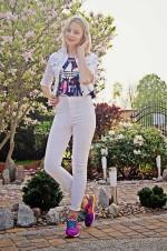 Белые джинсы. Спорт в большом городе