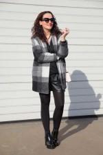 Пальто в шотландском стиле