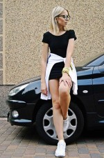 Спортивное мини платье