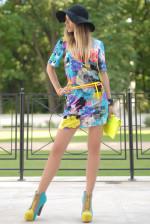 Платье в стиле 70-х